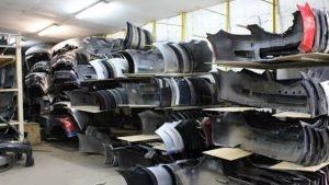 Кузовной ремонт в Иркутске - склад запчастей