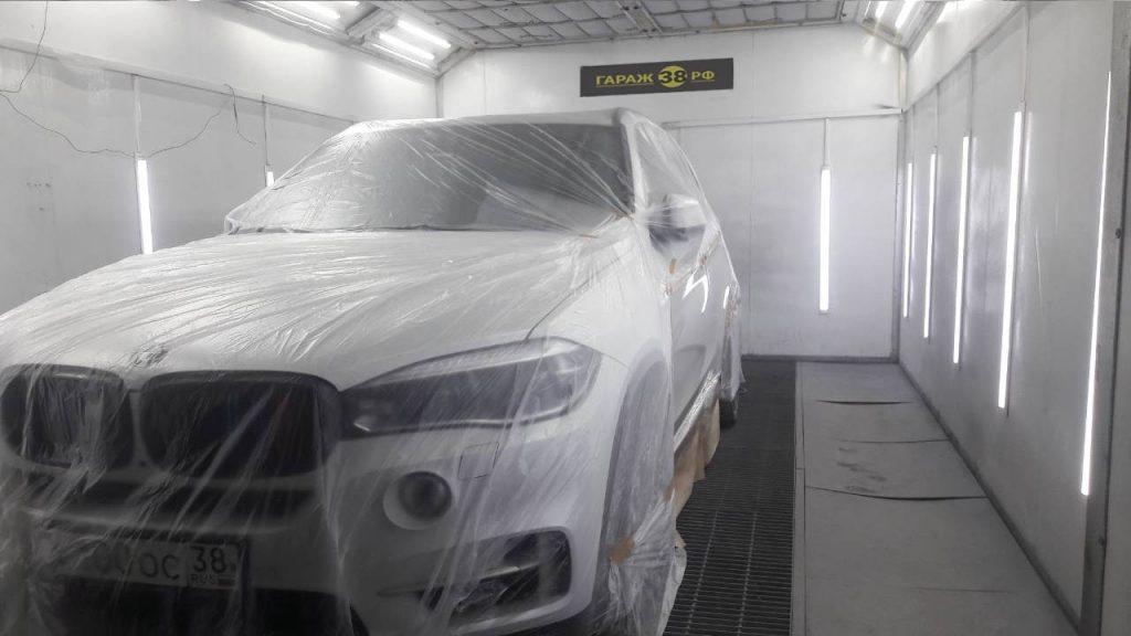 Покраска автомобилей в Иркутске - Покраска в камере